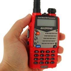 BAOFENG UV-5RA Professional Dual Band Transceiver FM Two Way Radio Walkie Talkie Transmitter(Red)