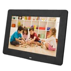 13 inch 1024 x 768 / 16:9 LED Widescreen Suspensibility Digital Photo Frame with Holder & Remote Control, Support SD / MicroSD / MMC / MS / XD / USB Flash Disk(Black)