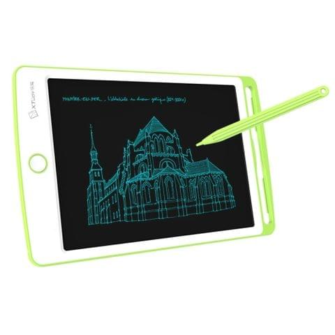 WP9308 8.5 inch LCD Writing Tablet High Brightness Handwriting Drawing Sketching Graffiti Scribble Doodle Board for Home Office Writing Drawing(Green)