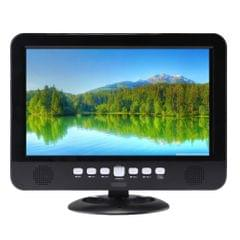 NS-1001 10.1 inch TFT LCD Analog Multimedia Portable Video TV Player, Support TF Card / USB Flash Drive / FM
