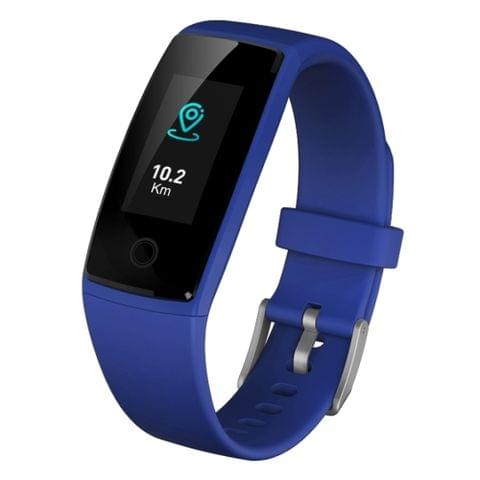 V10 0.96 inch Bluetooth Smart Bracelet, IP67 Waterproof,  Pedometer / Female Physiology Reminder / Heart Rate Monitor / Blood Pressure Monitor /  Sleep Monitor, Compatible with Android and iOS Phones (Blue)