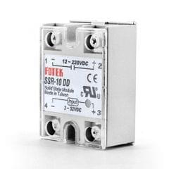 SSR-10DD DC 12-220V Solid State Relay for PID Temperature Controller