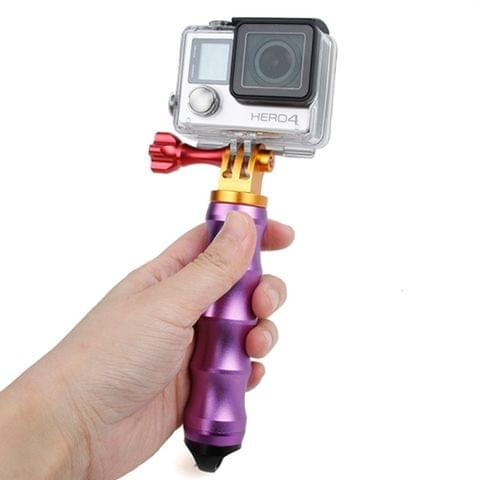 TMC HR295 Module Aluminum Grip for GoPro Hero4 / 3+ / 3, SJ4000, Xiaomi Yi Sport Camera(Purple)