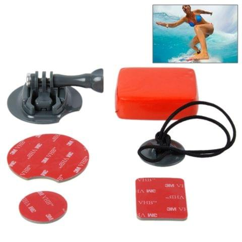 TMC Board Mount Surf Snowboard Wakeboard Set for GoPro NEW HERO / HERO7 /6 /5 /5 Session /4 Session /4 /3+ /3 /2 /1, Xiaoyi and Other Action Cameras(Grey)