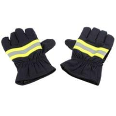 Fire Protective Gloves Anti-fire Equipment Fire Proof Waterproof Heat -Resistant Flame-retardant Gloves With Reflective Strap