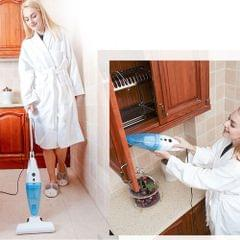 Mini Household Handstick & Handheld Dry Wet Amphibious Vacuum Cleaner