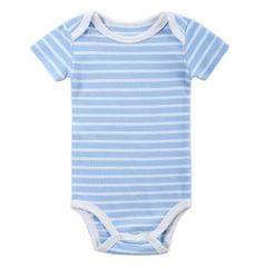 Baby Rompe Bodysuit 100% Cotton Short Sleeve Unisex Newborn Baby Clothing 0-3M