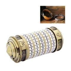 Code Toys Metal Cryptex Locks Wedding Gifts Valentines's Day Gift Password Present