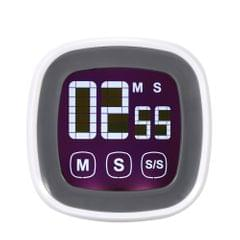 LCD Digital Touch Screen Cooking Kitchen Timer Countdown Count UP Alarm Clock