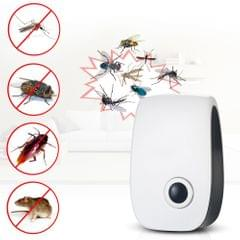 Electronic Ultrasonic Pest Repeller Non-toxic Mosquito Ants Spide Roaches Repelling AC90V-250V