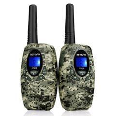 2PCS Retevis RT628 Civilian Handheld Intercom Children Radio Set