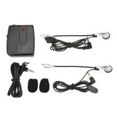 Motorcycle Helmet Headset 2 Way Intercom for Motorbike Motorcycle Helmet Interphone Headphones with Mic