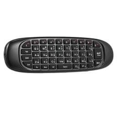 Russian English Version 2.4G Air Mouse Wireless Keyboard Remote Control 6-Axis Motion Sensing for Smart TV Android TV BOX PC