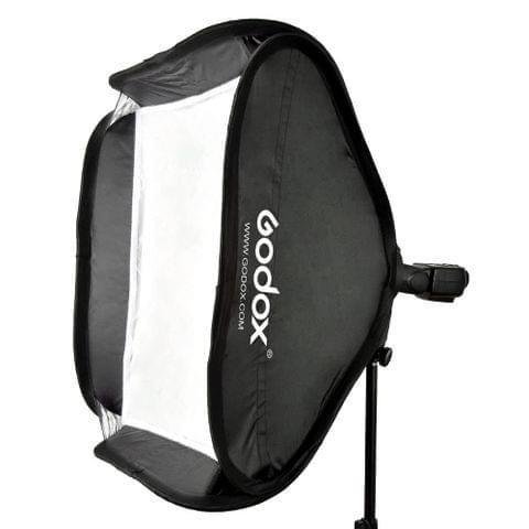 "Godox 80 * 80cm / 31"" * 31"" Flash Softbox Diffuser with S-type Bracket Bowens Holder for Speedlite Flash Light"