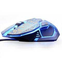 E-3LUE 4000DPI Adjustable USB Wired Gaming Mouse EMS639 High Precision 5 Colors Backlights Lights Ergonomic Computer Game Mice