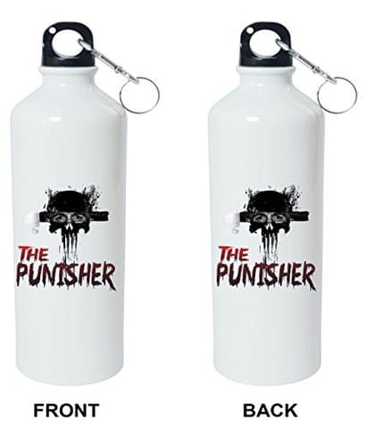 Crazy Sutra Classic Printed Quote Water Bottle/Sipper - 600Ml (ThePunisher_S)