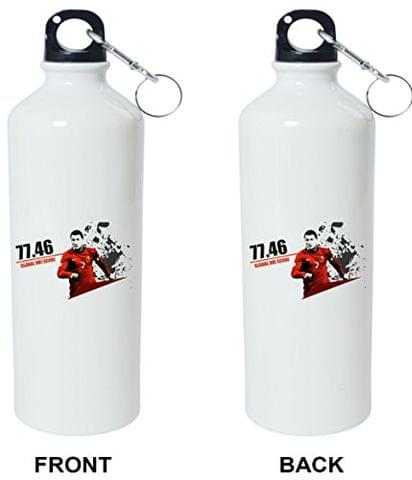 Crazy Sutra Classic Printed Quote Water Bottle/Sipper - 600Ml (GlobalDbiScore_C)