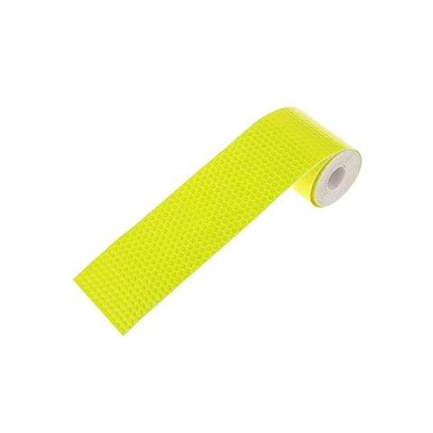 Imported 3M Warning Reflective Safety Tape Adhesive Sticker for Truck Car Yellow