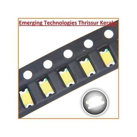 EMERGING 20pcs 1206 SMD LED RED Diode Super Bright Lighting Bulb Lamps Electronics Components LEDs with Small Surface Mount Chip Colour - RED