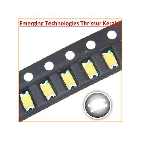 EMERGING 100pcs 1206 SMD LED BLUE Diode Super Bright Lighting Bulb Lamps Electronics Components LEDs with Small Surface Mount Chip Colour - BLUE