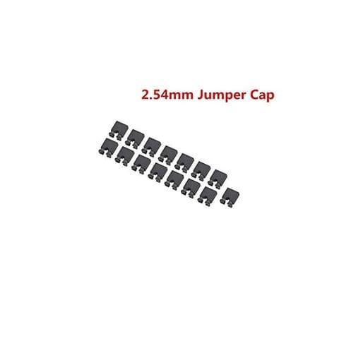 Generic Mini Jumper Short Circuit Cap Connectors, 2.54 mm-50 Pieces