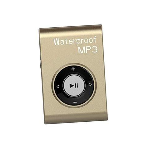Waterproof Mp3 Music Player Stereo Audio Sound with Clip Lossless Support MP4 WMA APE WAV 4GB Gold
