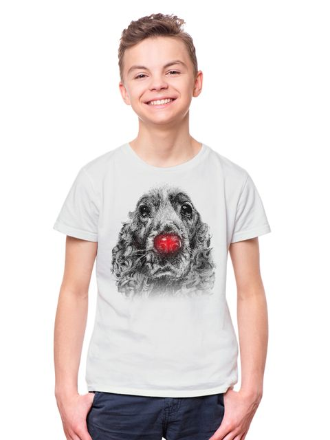 Ru-dog the red nose