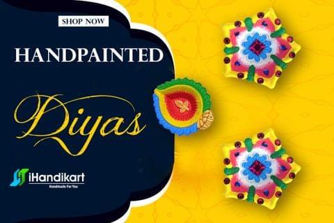 Handpainted Diyas