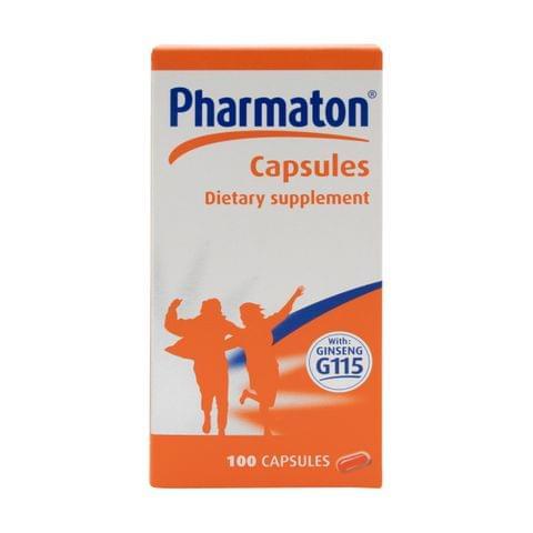 كبسولات متعددة الفيتامينات 100كبسولة