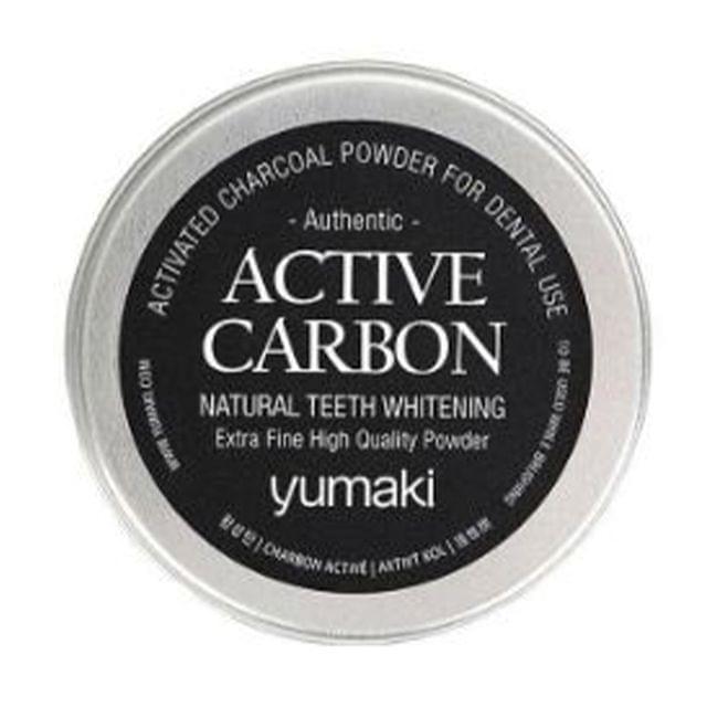 مسحوق الكربون لتبييض الأسنان