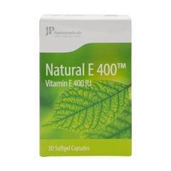 جي بي فيتامين إي طبيعي 400 ملجرام - 30 كبسوله