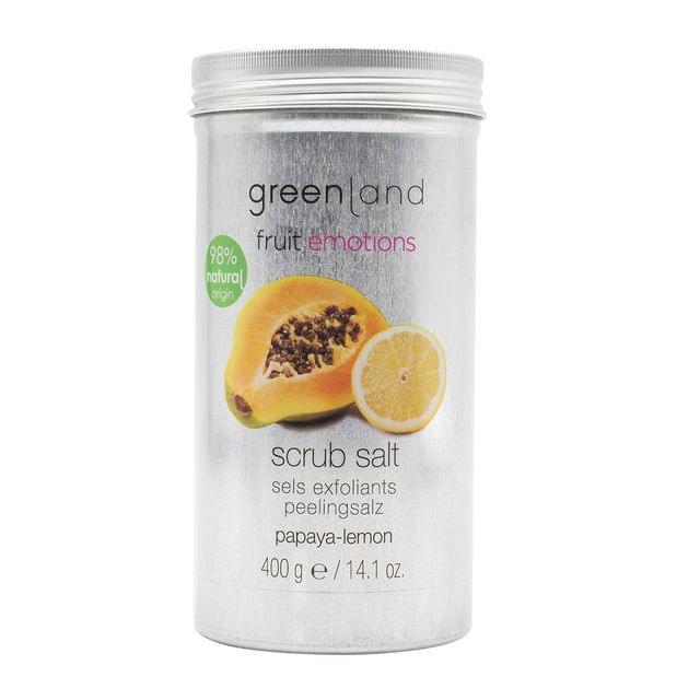 مقشر بالملح و البابايا و الليمون 400غرام