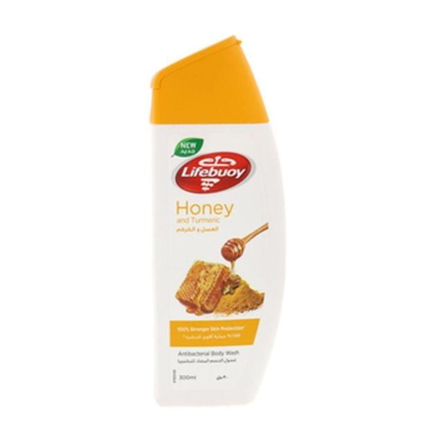 لايفبوي غسول جسم بالعسل مل12X300 ليفة