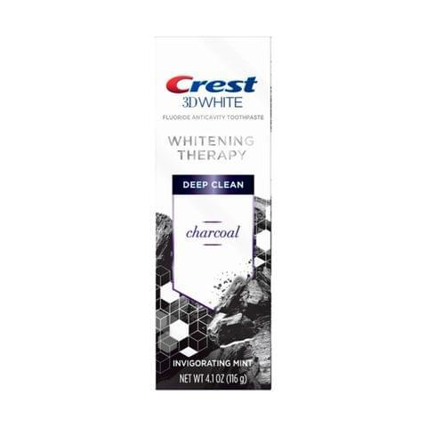 معجون أسنان 3 دي وايت بالفحم للتبييض - نعناع - 75مل