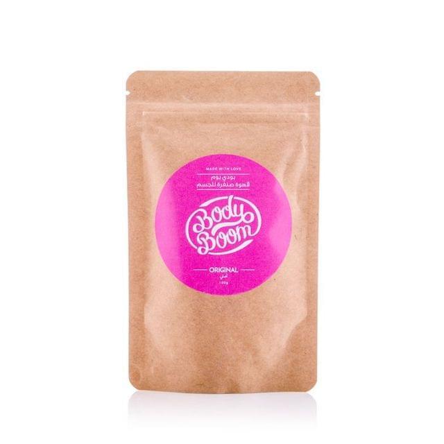 مقشر القهوة الأصلي من بودي بوم  100جم