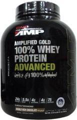 امبليفايد جولد 100% وي بروتين  دبل شيكولاته 5.12 باوند