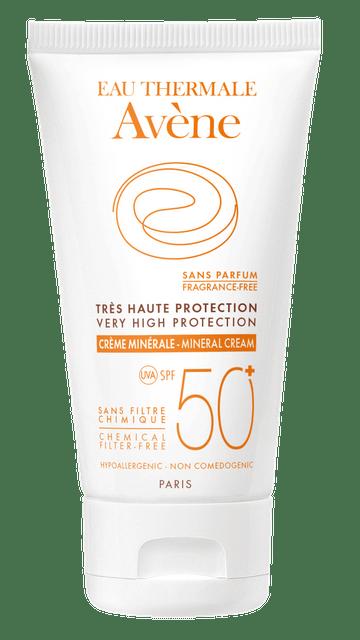كريم معدني للحماية العالية من الشمس بعامل حماية +50 - 50مل