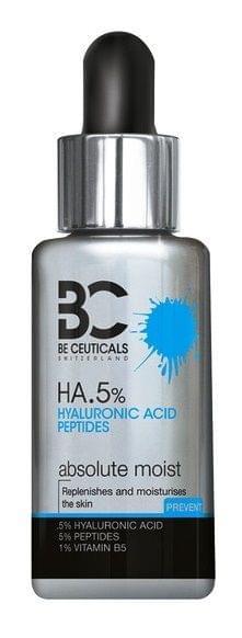 سيروم مرطب بحمض الهيالورنيك 5% + البيبتيدات 35مل