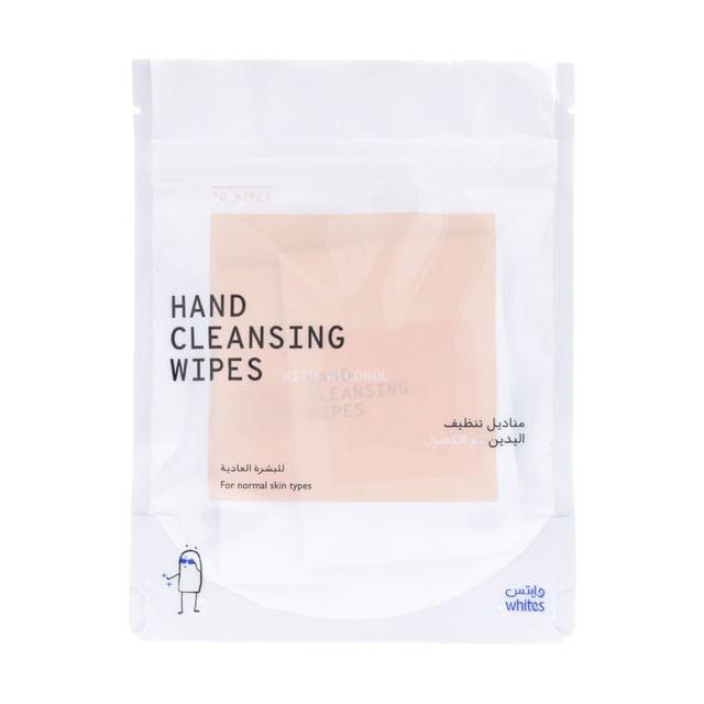 مناديل تنظيف اليدين -البشرة العادية-10 مناديل منفردة