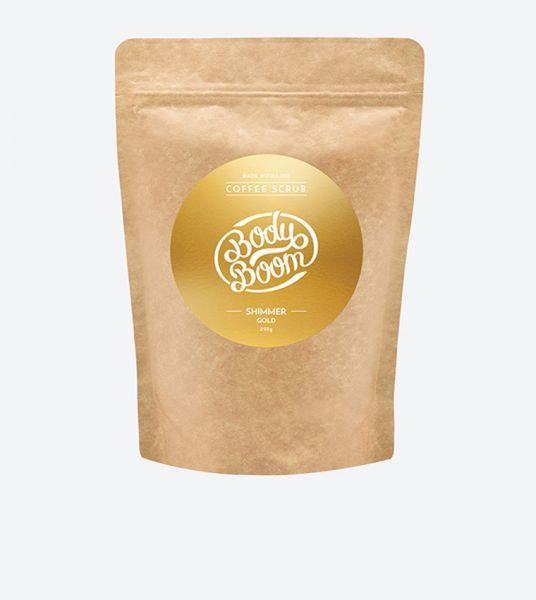 مقشر القهوة شيمر جولد - 200 جم