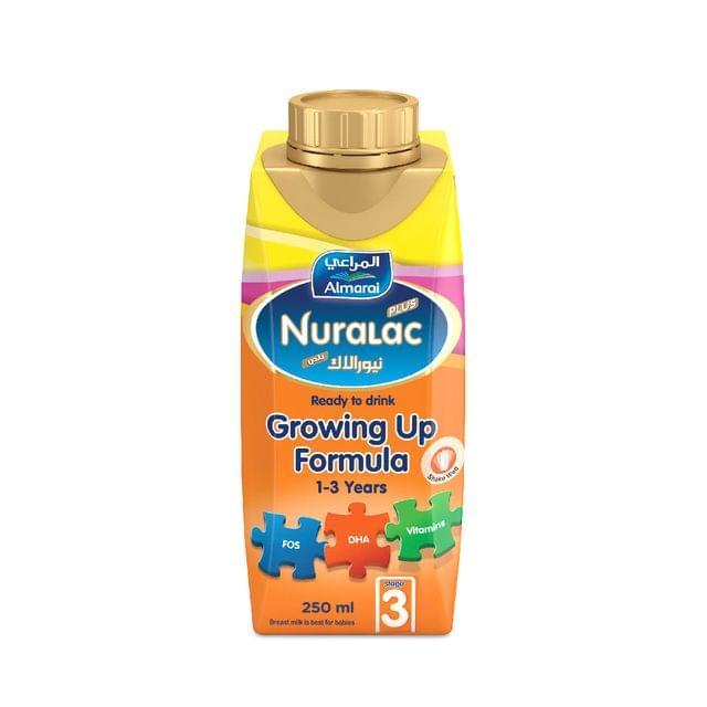 نيورلاك حليب جاهز للشرب - المرحلة الثالثة - 250مل