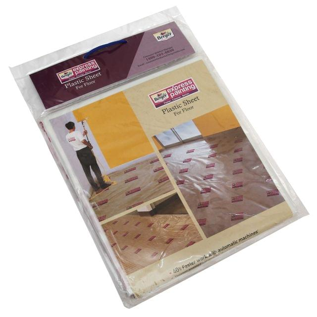 "Berger Express Painting Plastic Sheet for Floor 48"" x 120"""