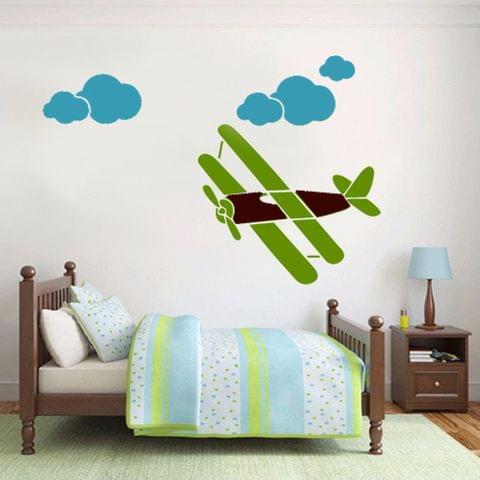 Stencil - Merry Glider - 16.53 inches x 11.69 inches