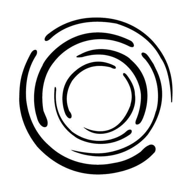 Berger Silk Designzz Spiralina Stencil 7.87 x 7.87 inches