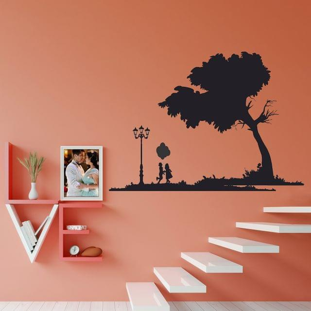 """DIY Wall Stickers Park Silhoutte for Home Décor (36""""X24"""")"""