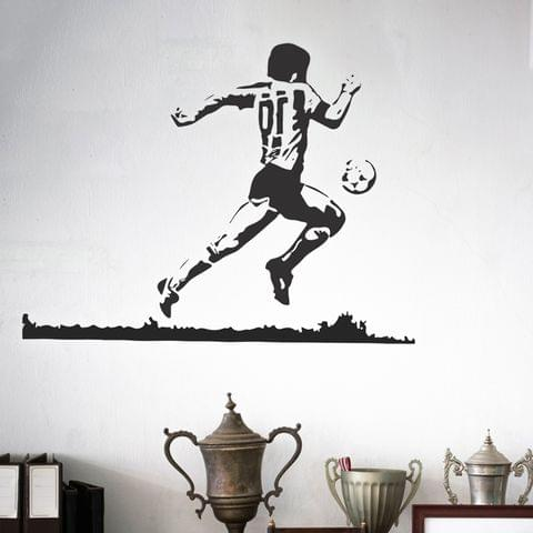 "DIY Wall Stickers Maradona Small for Home Décor (24""X18"")"