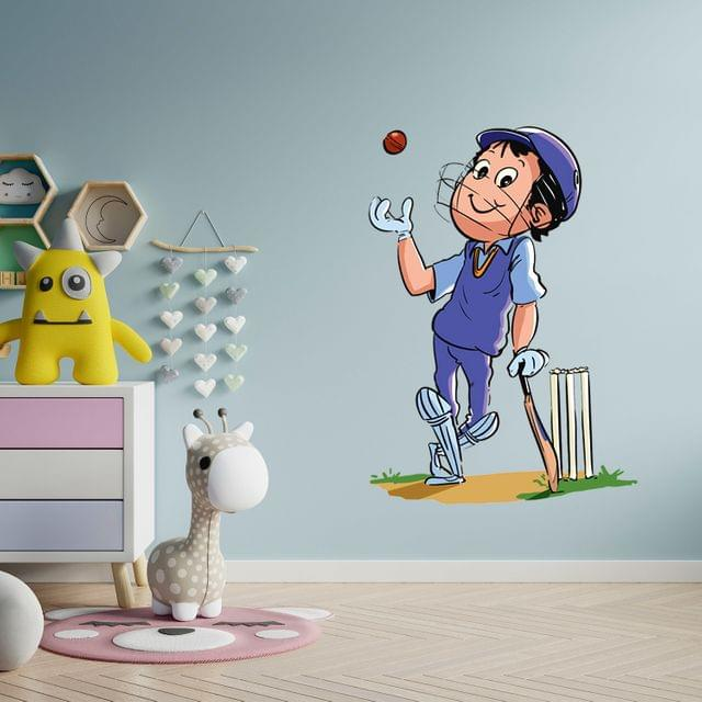 """DIY Wall Stickers Cricket for Home Décor (24""""X18"""")"""