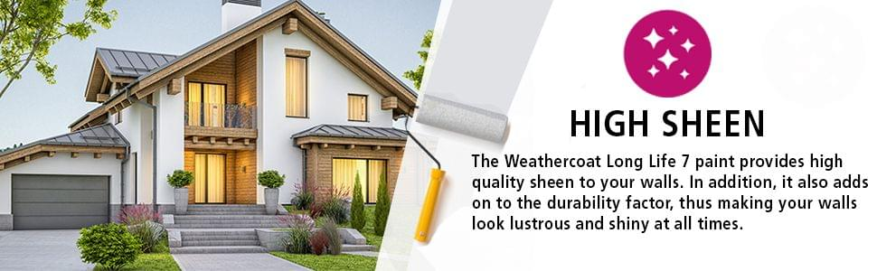 Berger Paints WeatherCoat Long Life 7 Exterior Emulsion