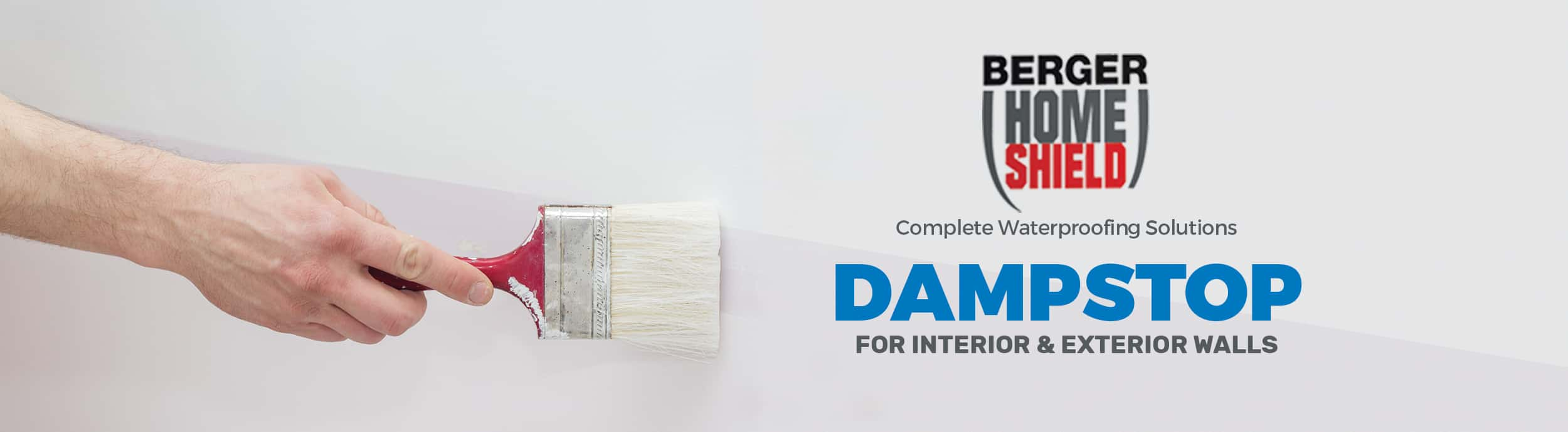 Waterproof coating for walls berger paints dampstop