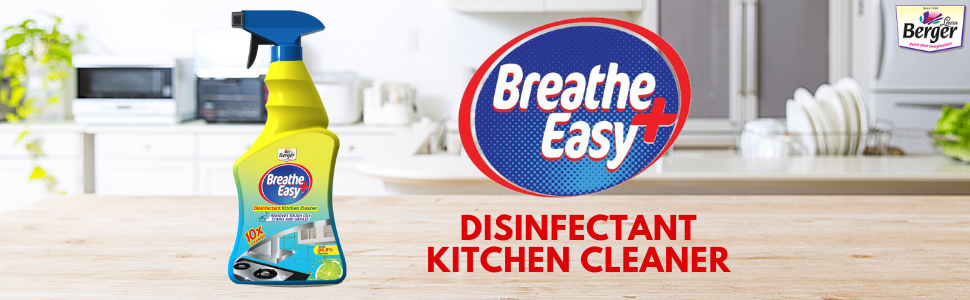 Kitchen Cleaner breathe easy berger